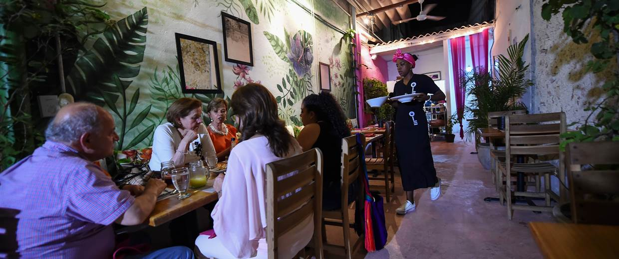 These Women Are Serving Food, and Time, in Colombia's Trendy Prison Restaurant